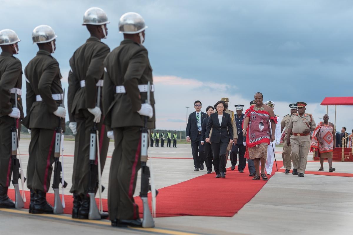 Taiwan's diplomatic status erodes again